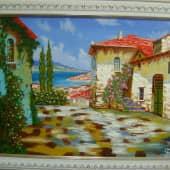 Итальянский пейзаж (1), художник Борис