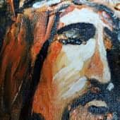 Иисус Христос (1), художник Mansur Mirzoev