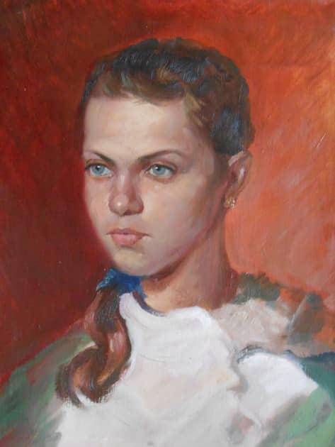 Портрет девочки Женя