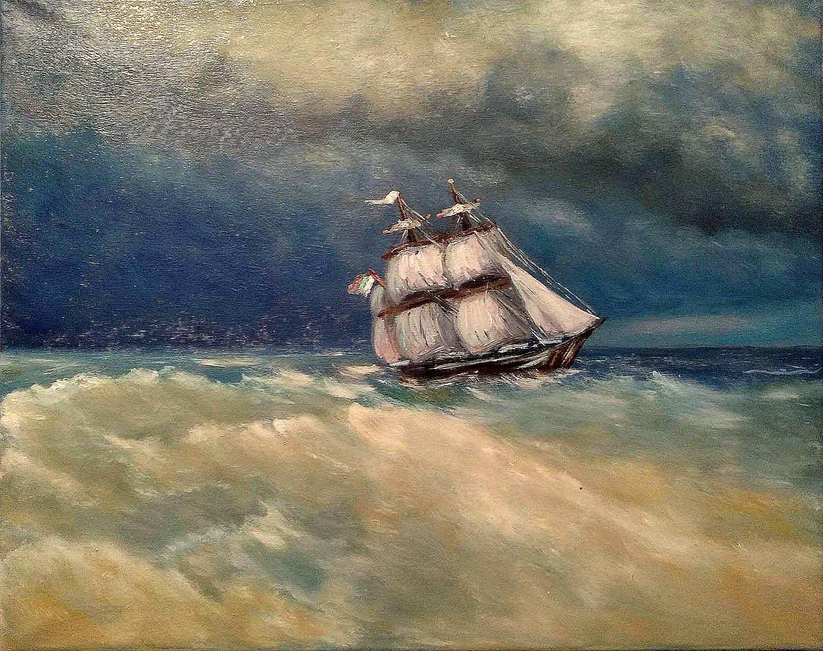 Копия картины И.Айвазовского