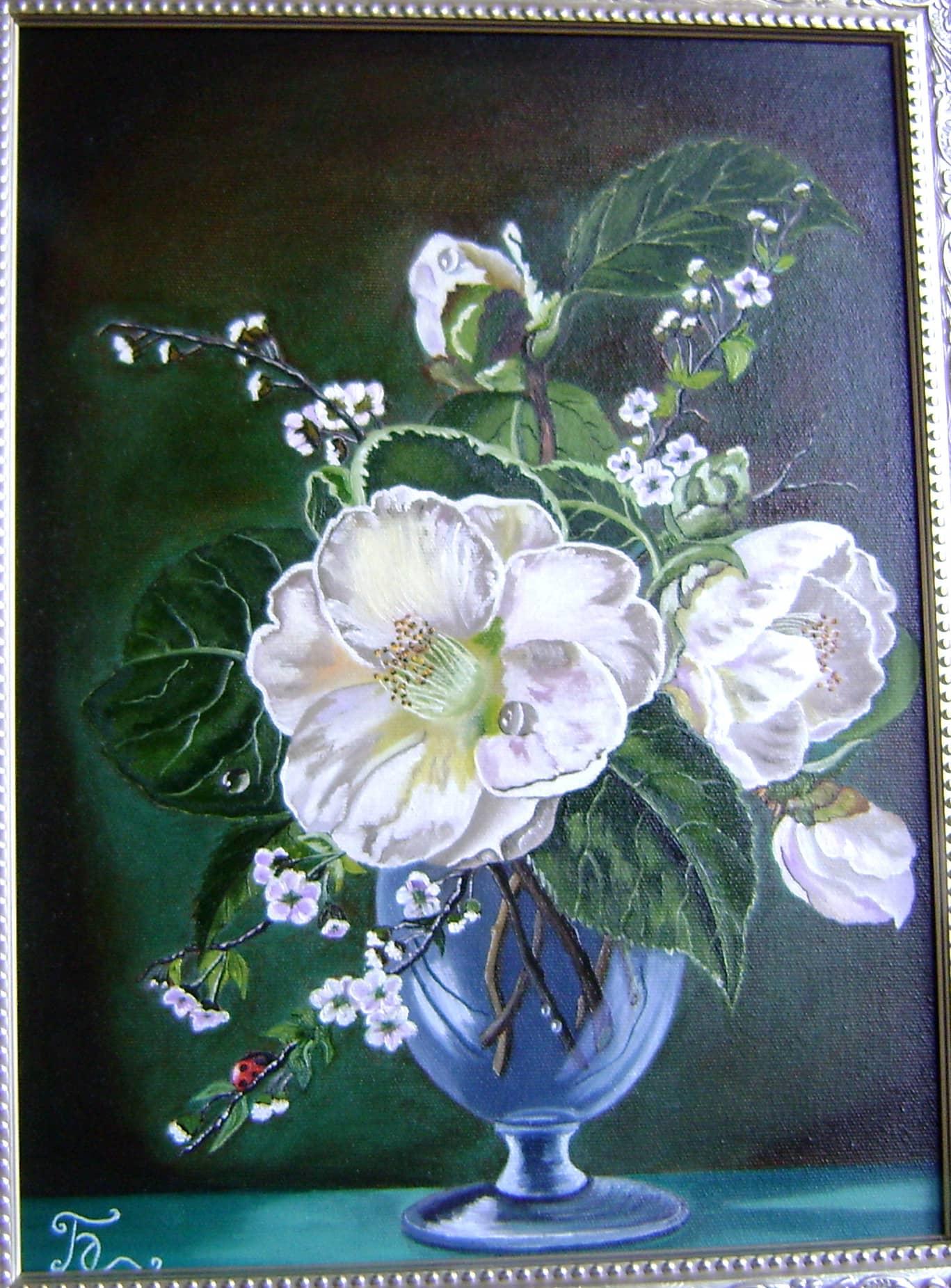 Цветы (Списана с работ Сесиль Кенеди)