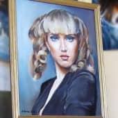 Портрет девушки (2), художник Валерий
