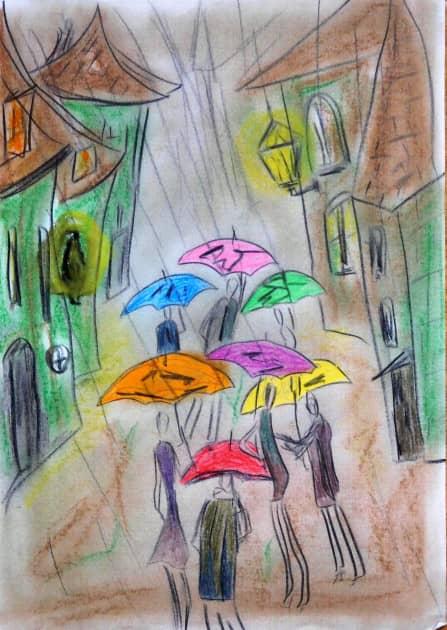 Дождь и Сумерки