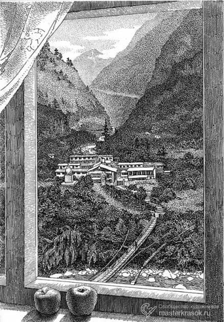Рисунок из путешествия