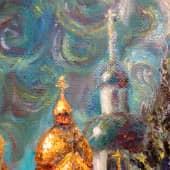 Провинциальный сюжет (Монастырь) (3), художник Александр