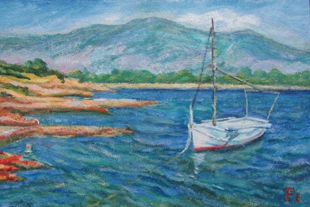 Белая лодка