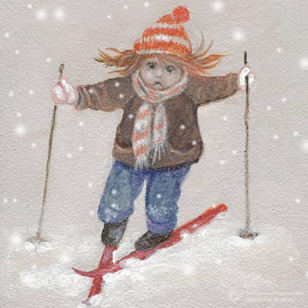 Непослушные лыжи