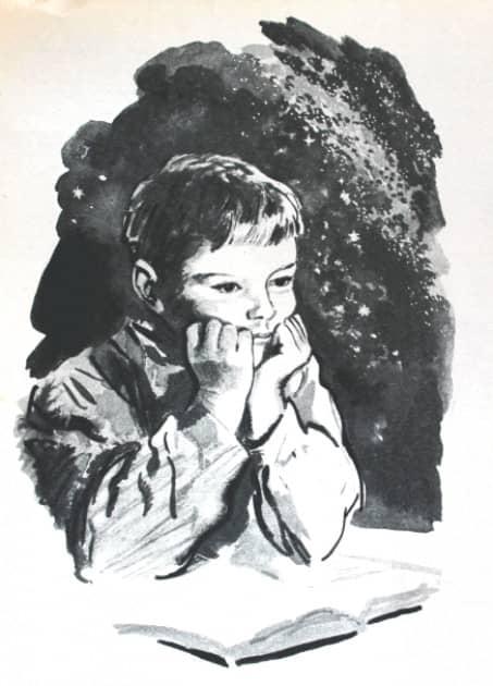 Портрет сына в 10-летнем возрасте.