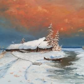 Зимний пейзаж-2