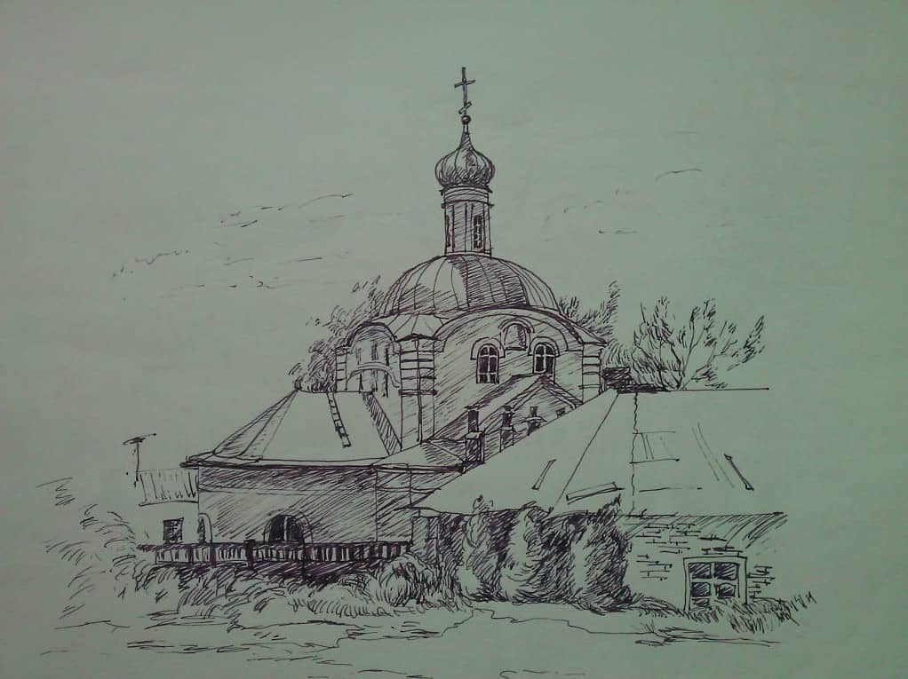 Воронеж. Спасский храм.