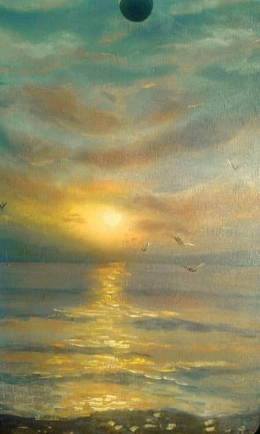 Море на закате