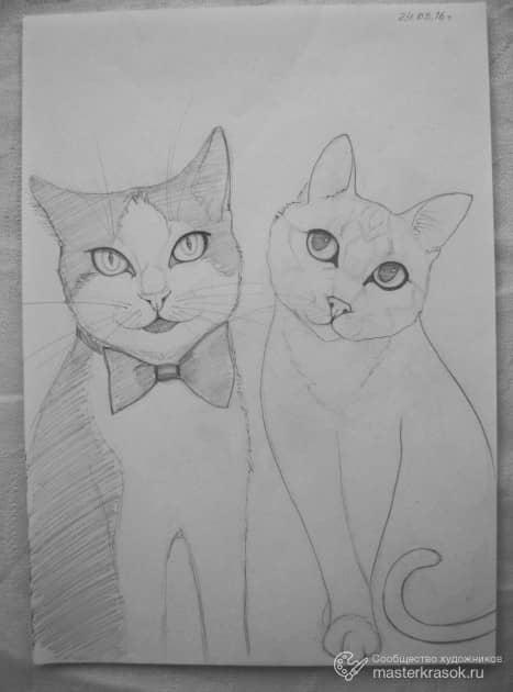 Рисунок. (карандаш, бумага)