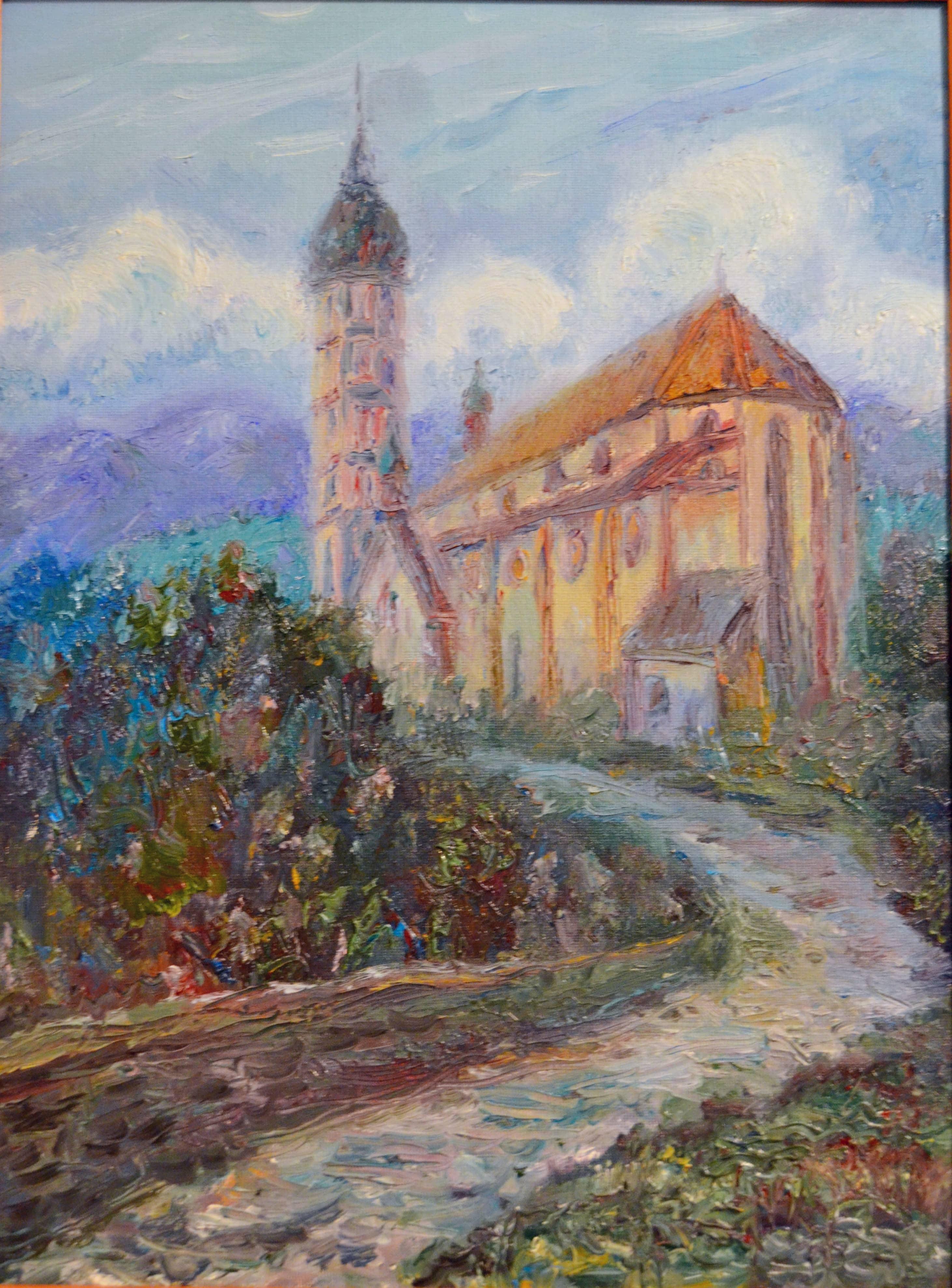 Монастырь Андекс (Andechs) в Баварских Альпах.