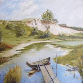 Тихий день на реке