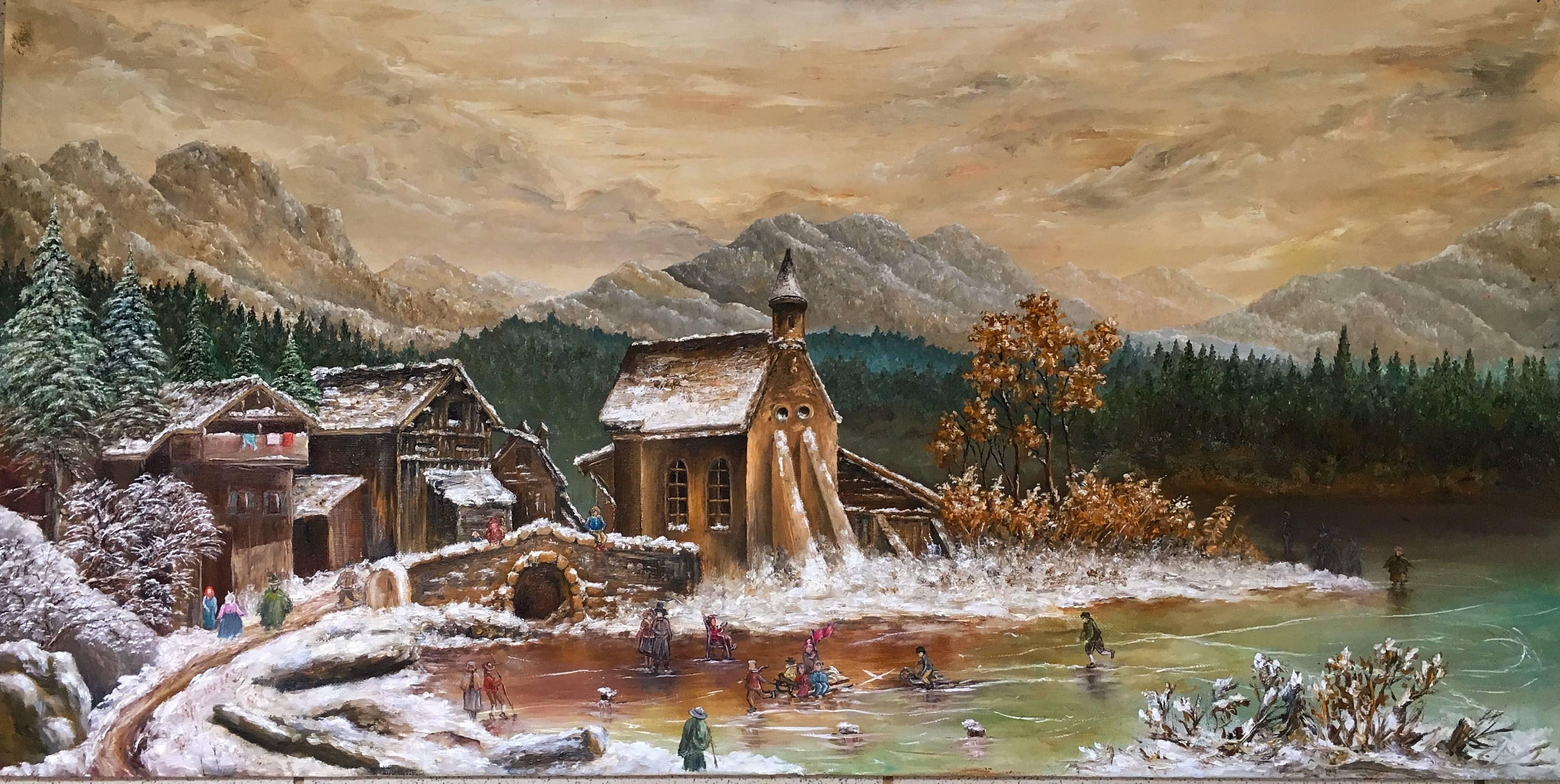 «Зимний день. Германия XVIII в.»
