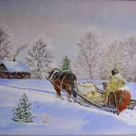 Зима, сюжет 2
