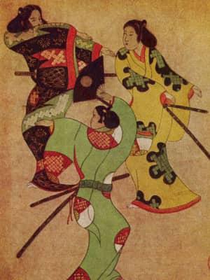 Самураи и живопись