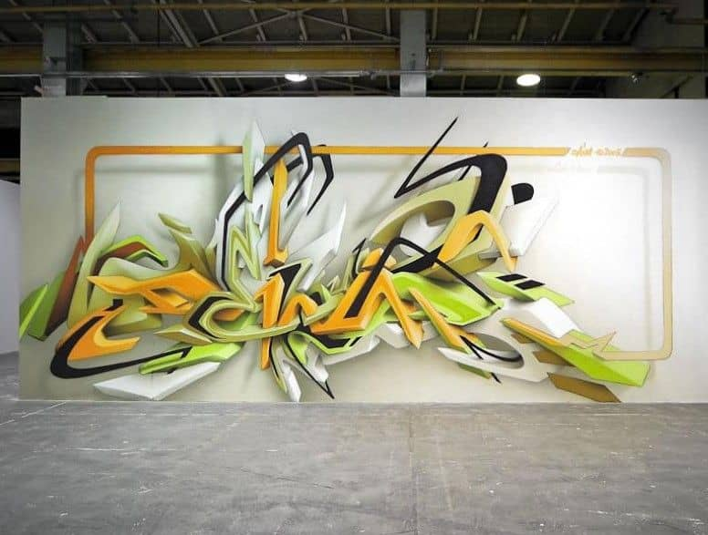 Как новичку быстро научиться рисовать граффити?