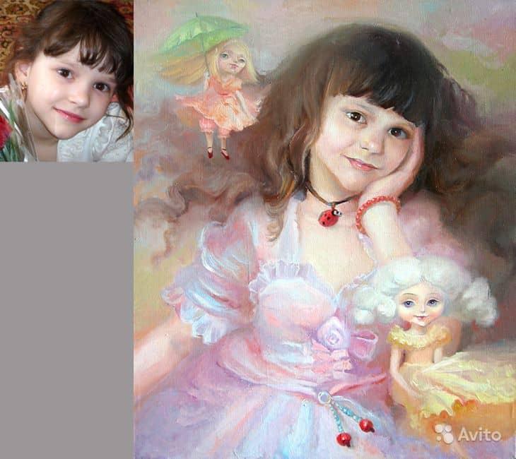 Как правильно использовать фото для живописи?
