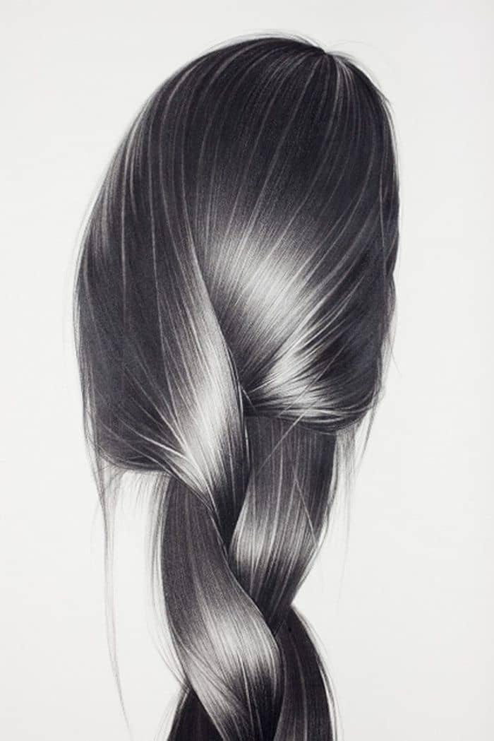 Как рисовать волосы?