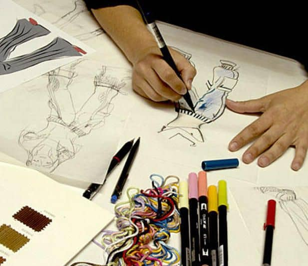 Как рисуют модельеры