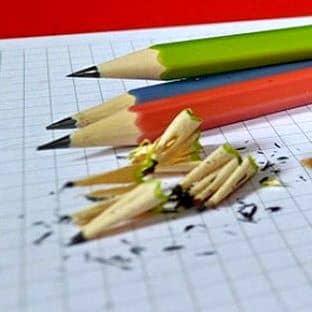 Как точить карандаши