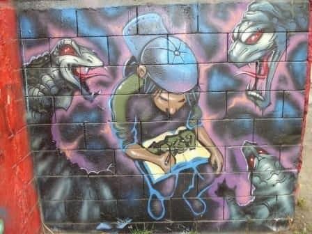 Первые шаги в граффити