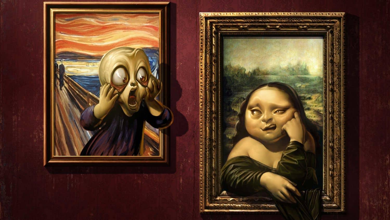 Семь самых забавных картин в истории