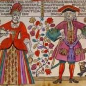 История русского лубка