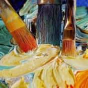 Как самостоятельно изготовить масляные краски?