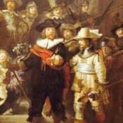 Рембрандт и шестнадцать мушкетеров