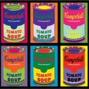 С чем едят поп-арт? С супом Campbell's!