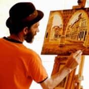Станковая живопись – определение, материалы, жанры и тонкости написания