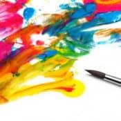 Виды красок для живописи