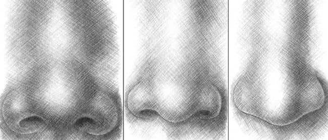 Учимся рисовать носы