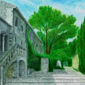 Старинное испанское поместье