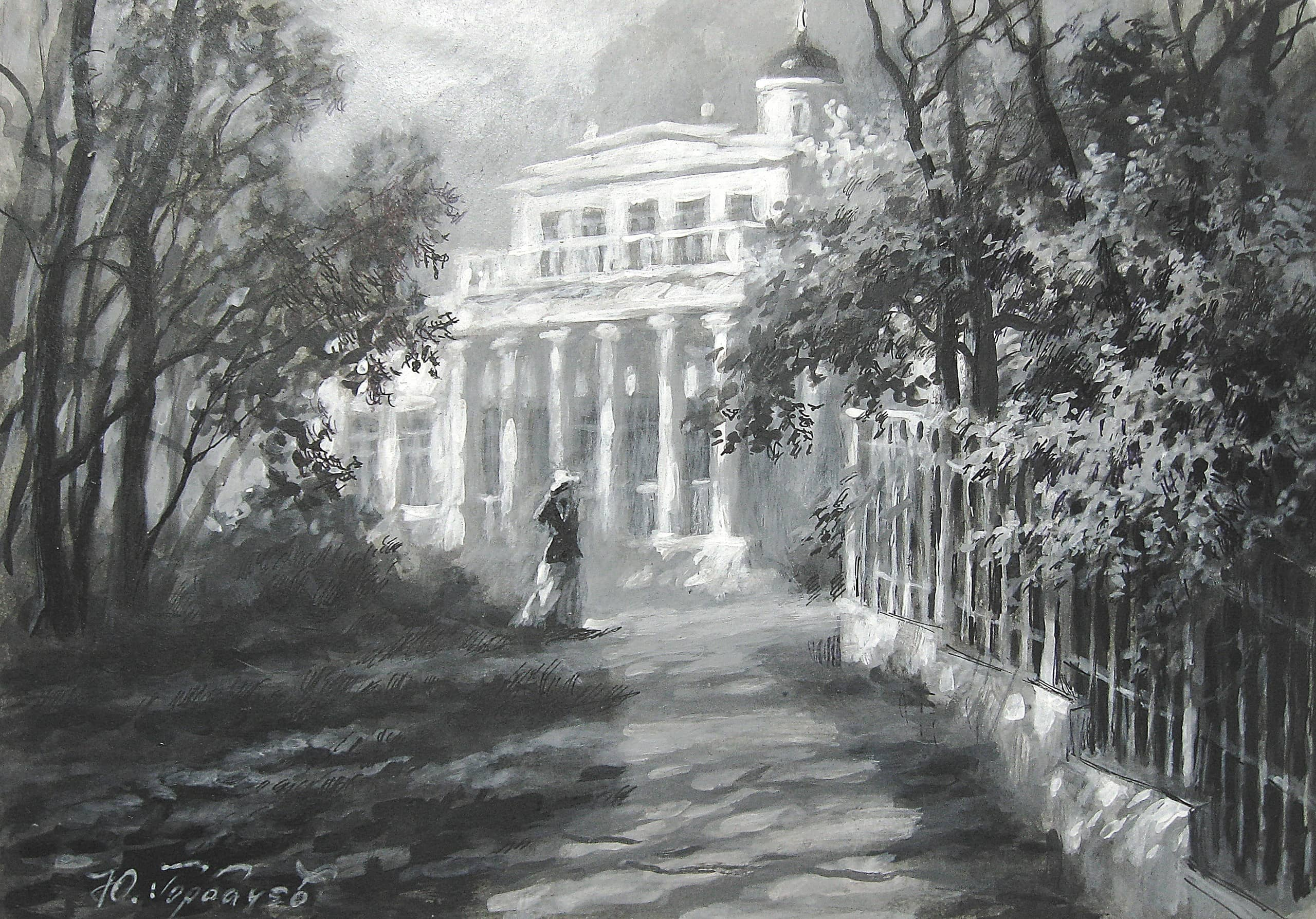 Дом Ф.Тютчева в селе Овстуг