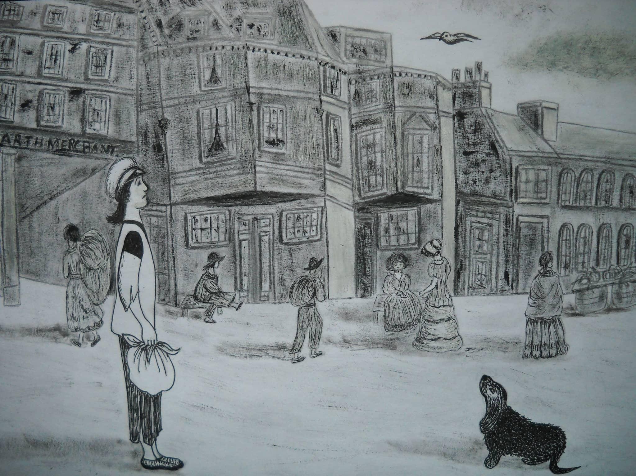 Один в Лондоне 19 века.