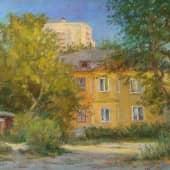 Уходящее лето, художник Ирина Голубина