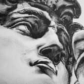 Взор Давида (1), художник melamorisa