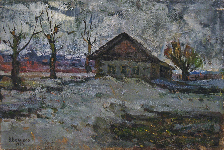 Пасмурный зимний день