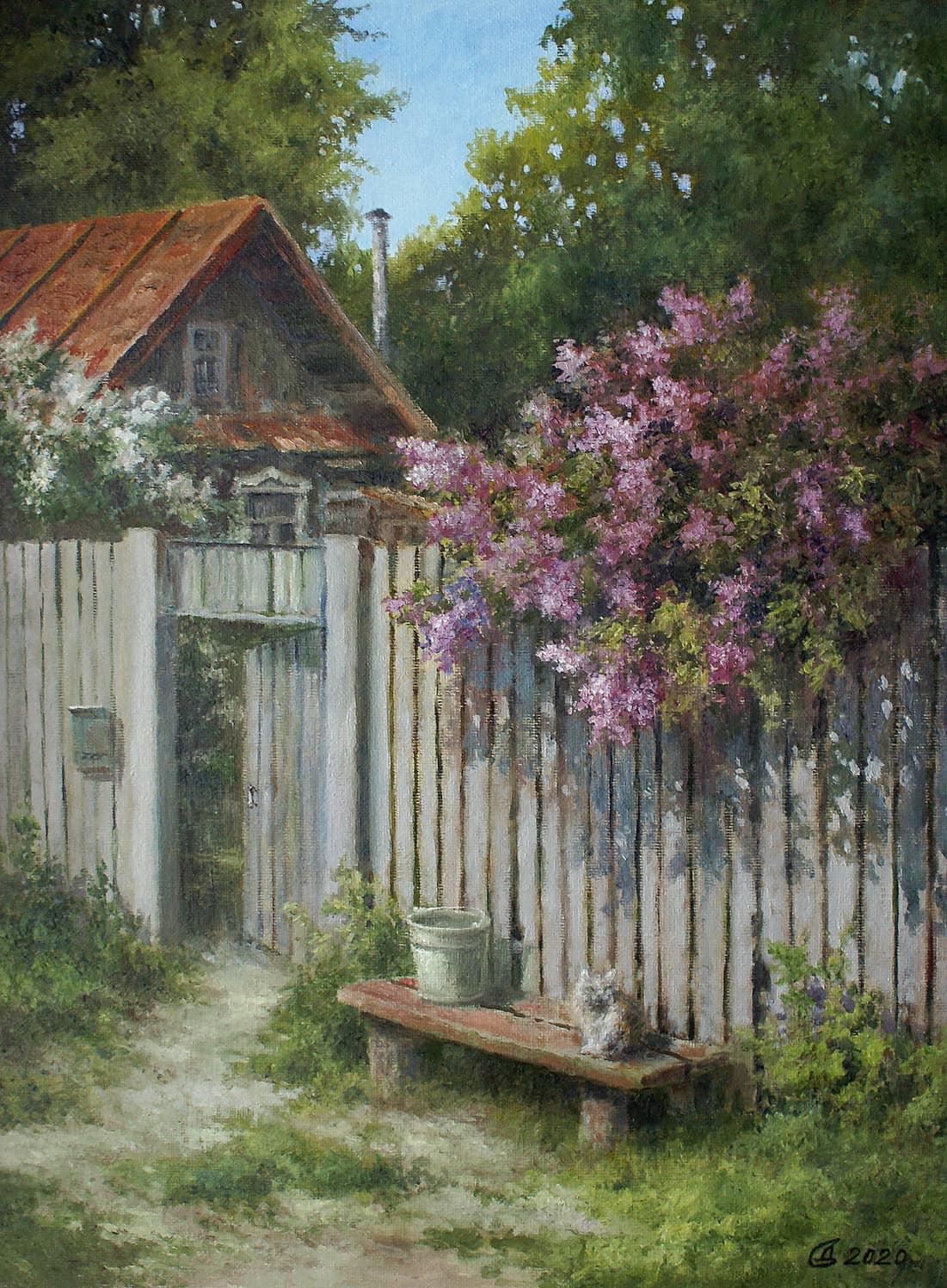 Деревенская весна