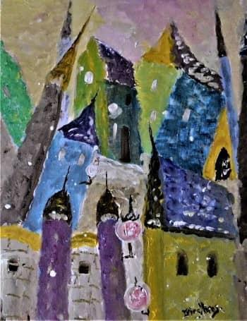 Снегопад в Старом Городе, сюжет 2