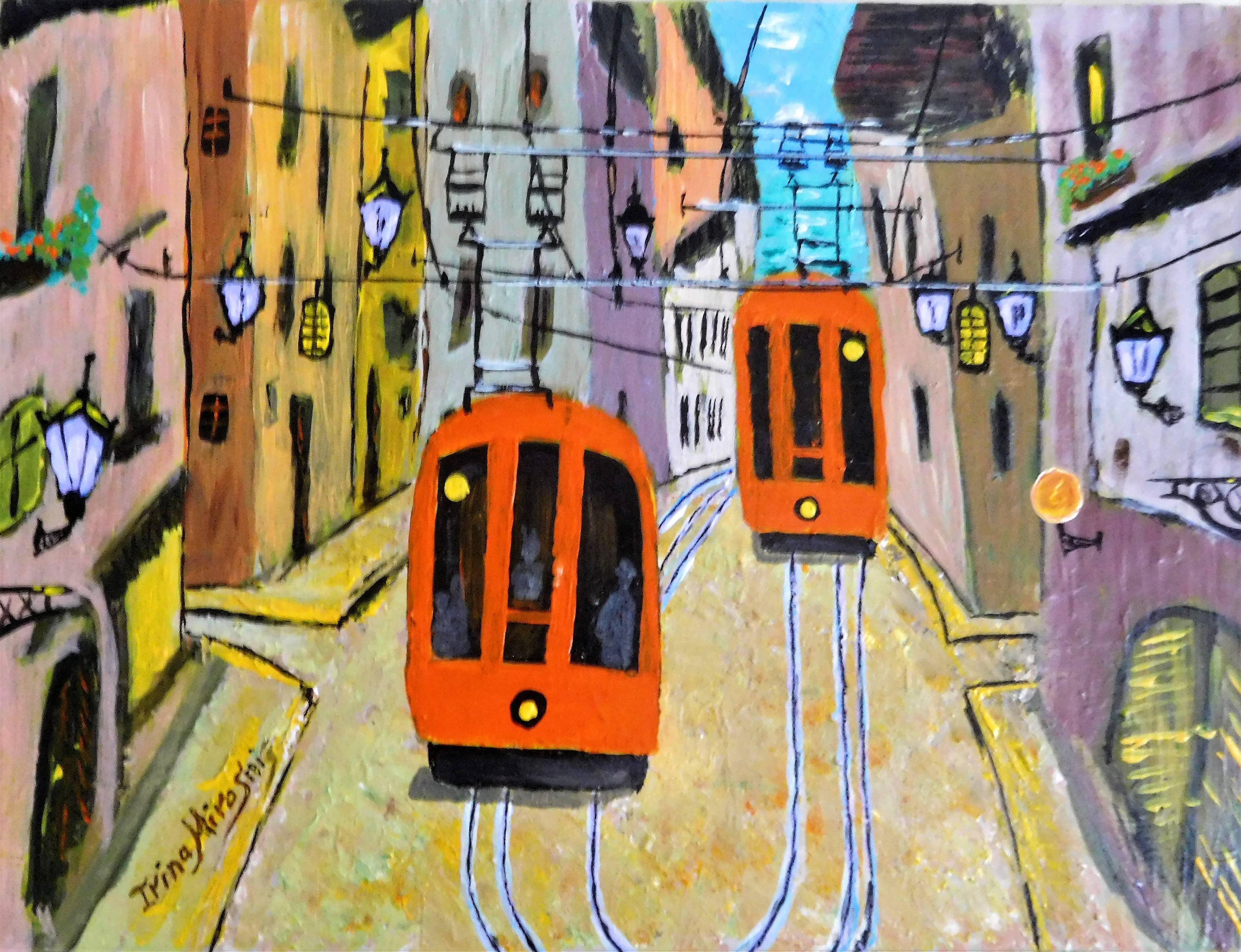 Трамваи Уходят в Море