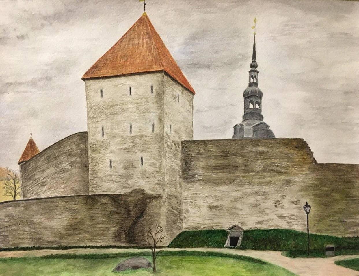 Таллинн. Девичья башня