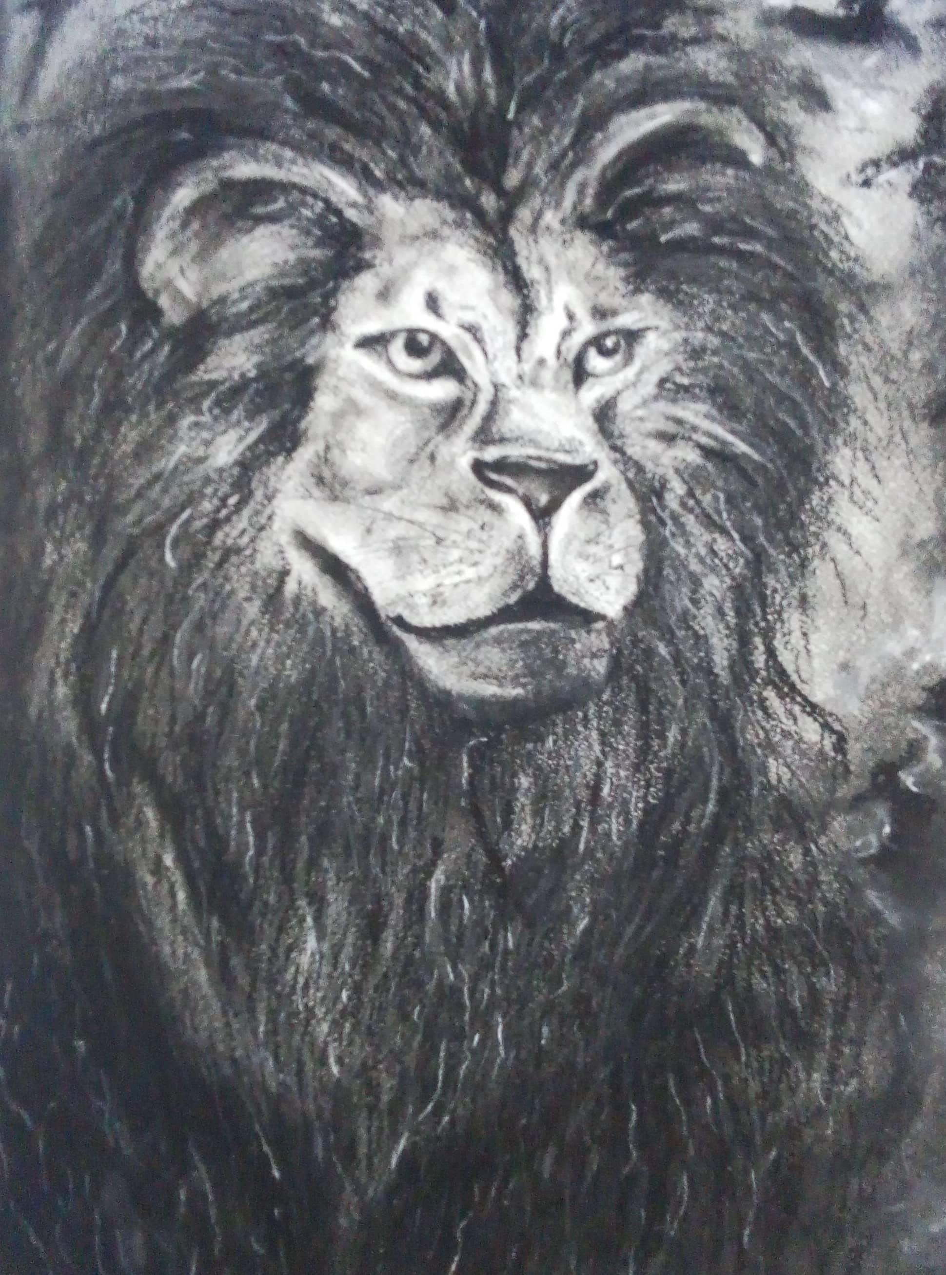 Грозный царь зверей