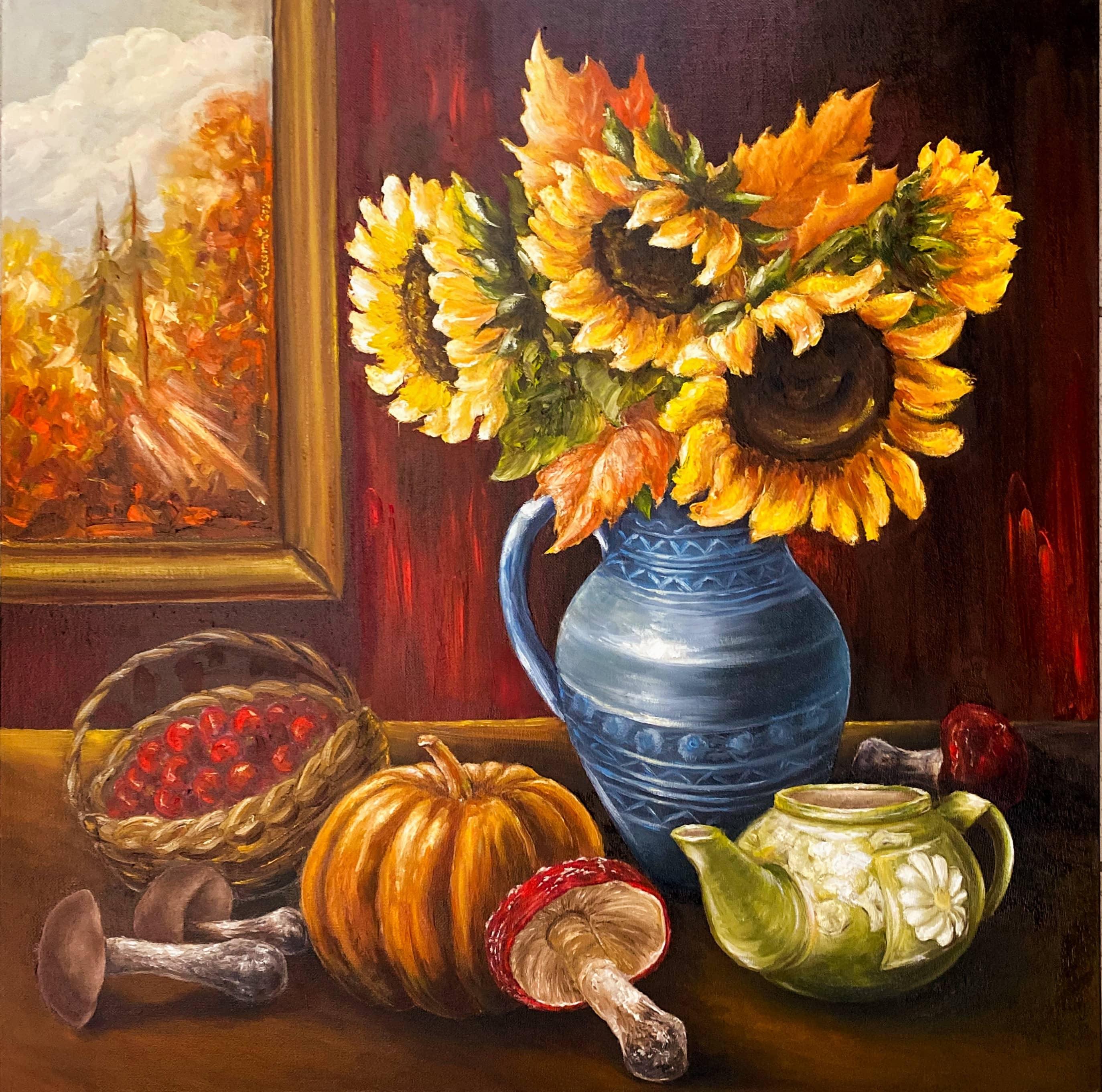 «Осенний букет как прощание с летом...»