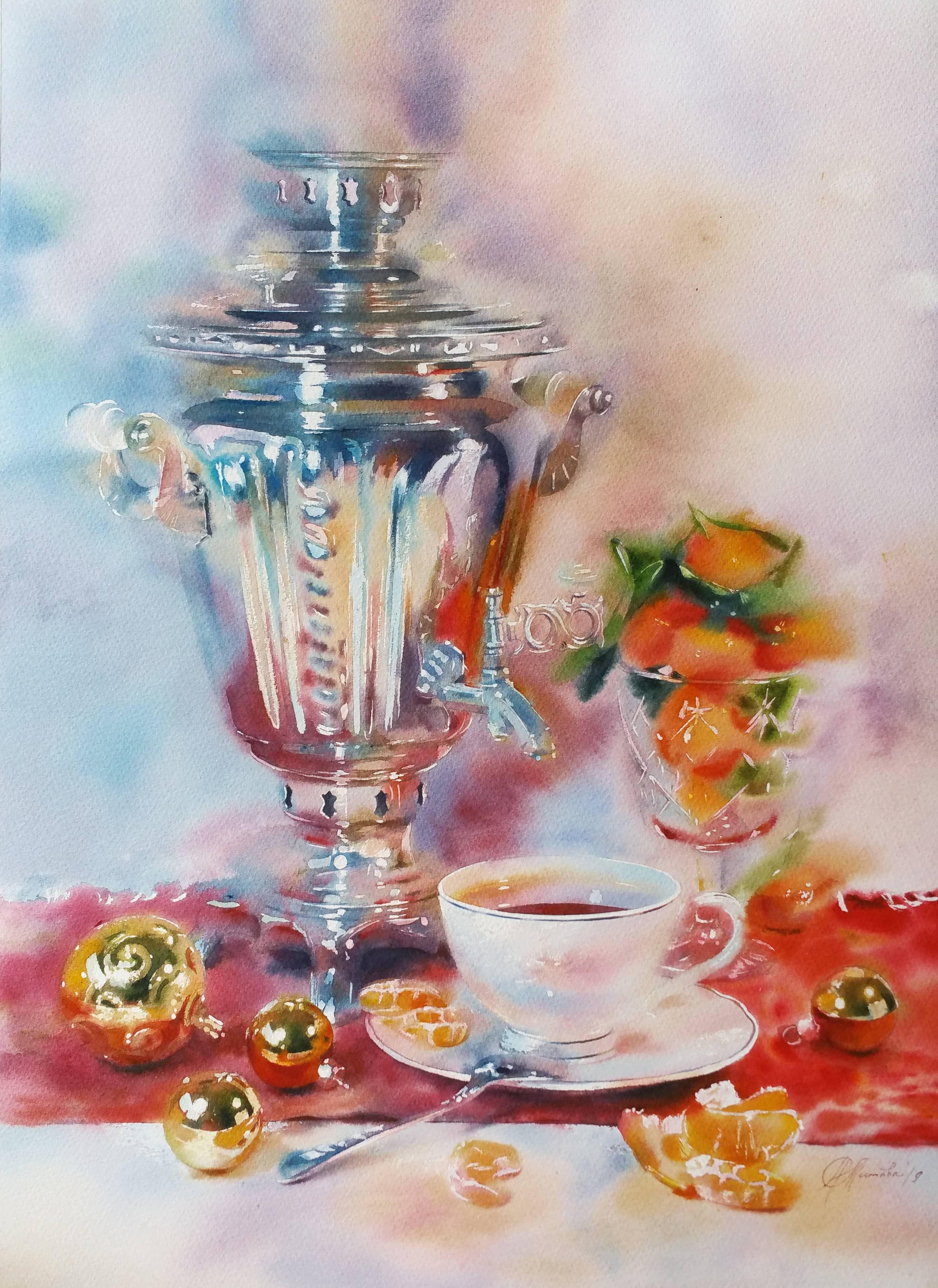 Мандариновое чаепитие