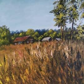 Сельский пейзаж, сюжет 2