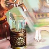 Парад самоваров (4), художник Светлана Храмцова